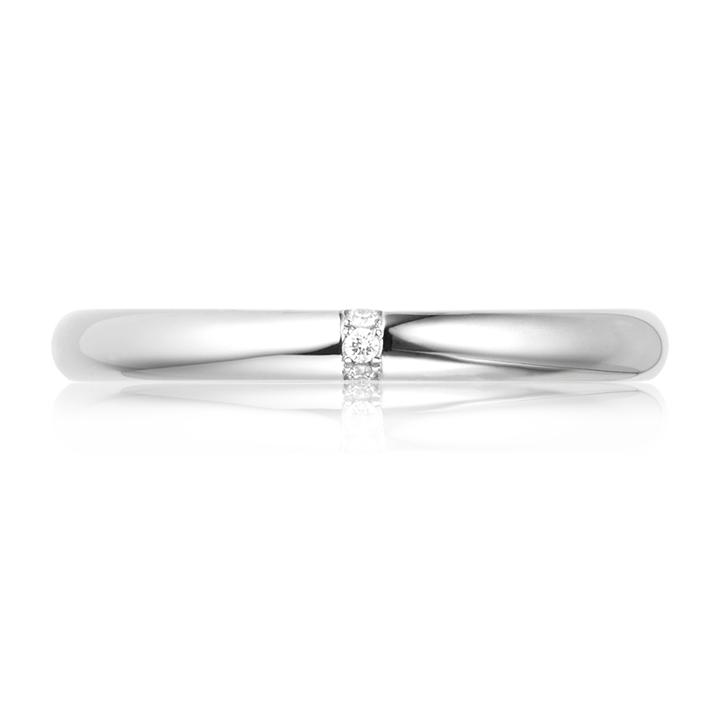 Обручальное кольцо с цирконием «Marriage»