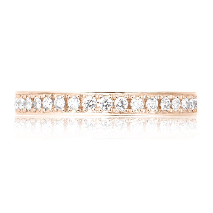 Обручальное кольцо с цирконием «Bond of love»