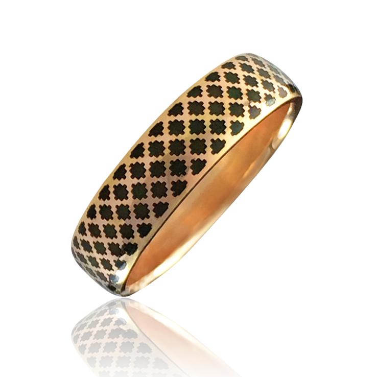 Золотое обручальное кольцо «Aida-I»