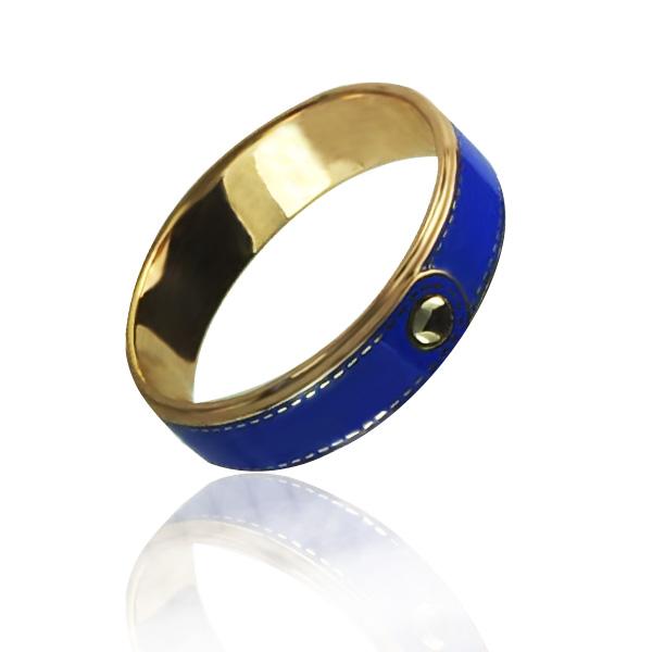Золотое обручальное кольцо «Bouton de tissage»