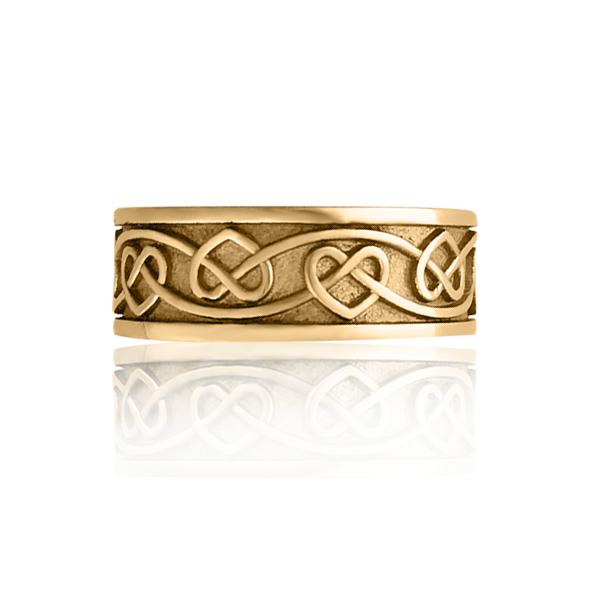 Золотое кольцо «Amore»