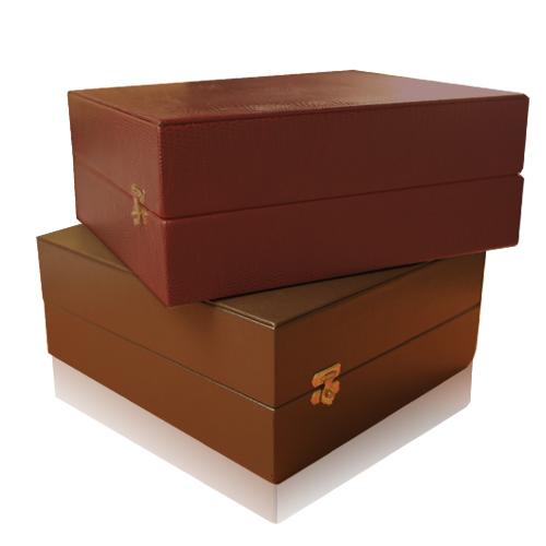 Подарочная упаковка из экокожи
