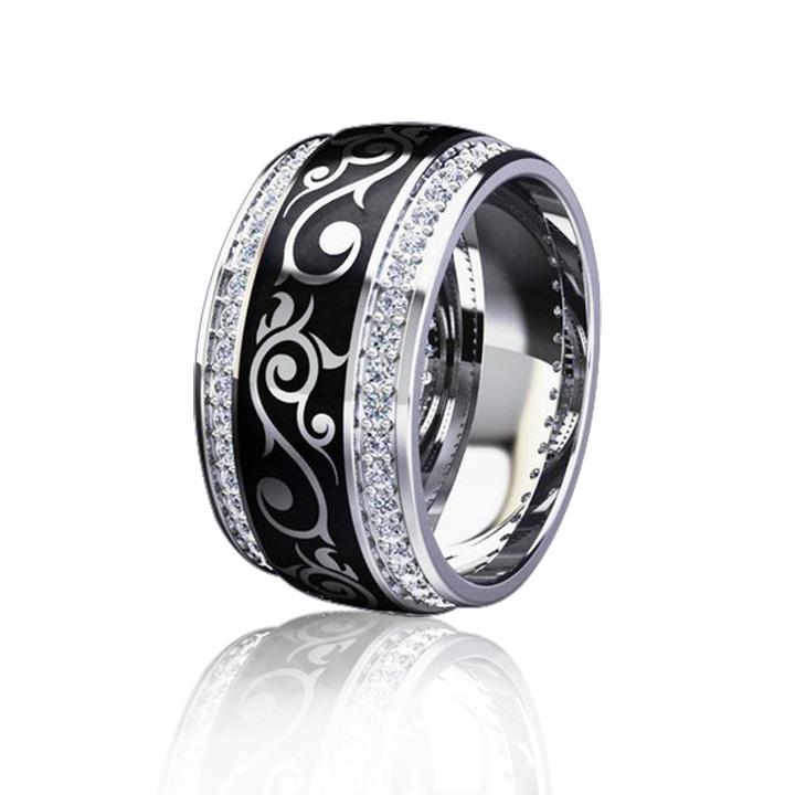 Эксклюзивное кольцо с эмалью 'Бьюти'