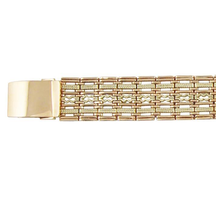 Золоті наручний чоловічий годинник «Ефект»