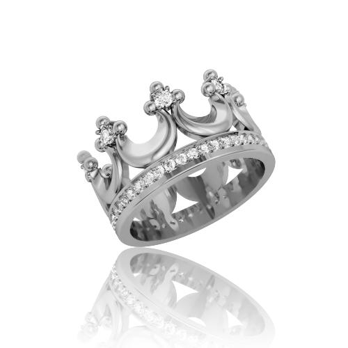 Обручальное кольцо-корона «Royal choice»