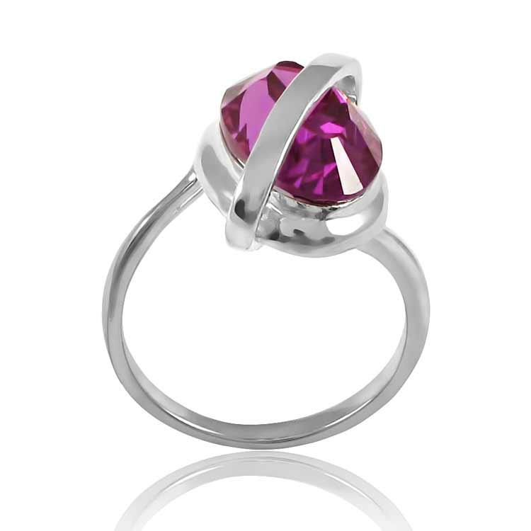 Золотое кольцо с александритом «Лучия»