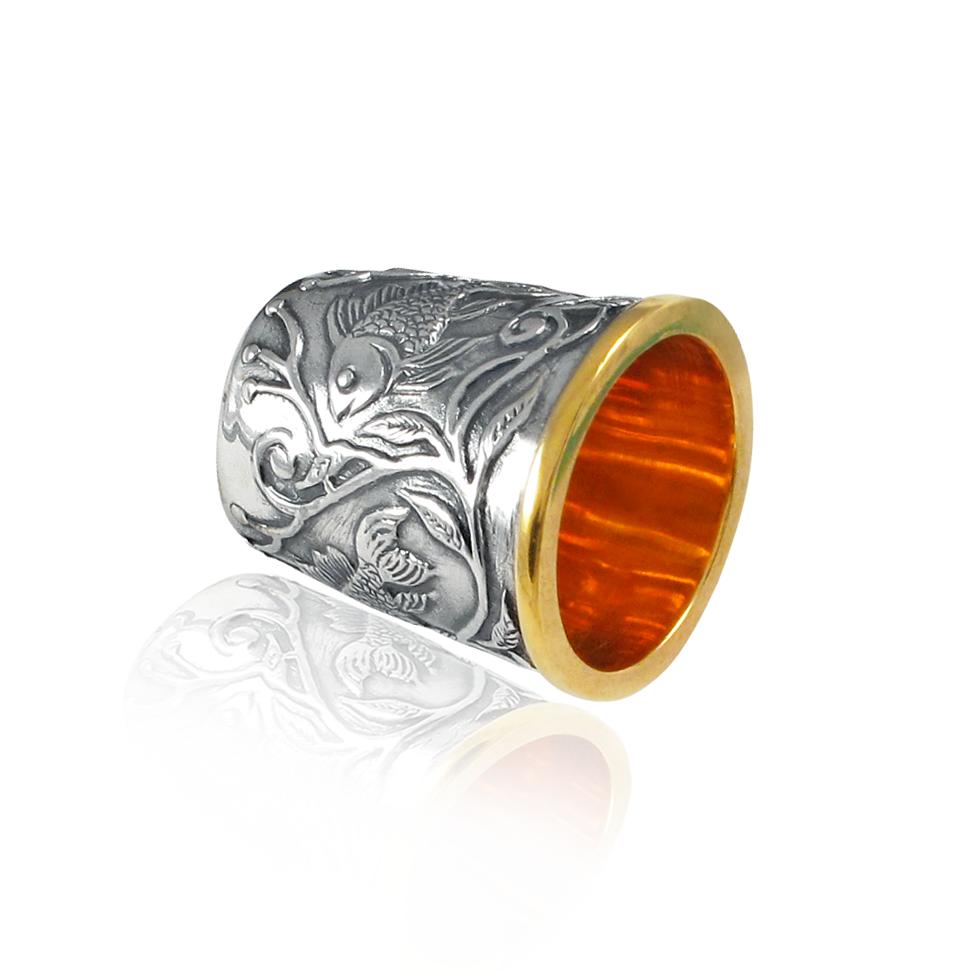 Серебряный наперсток «Для швеи»
