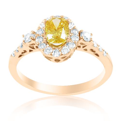 Золота каблучка сапфіри діаманти