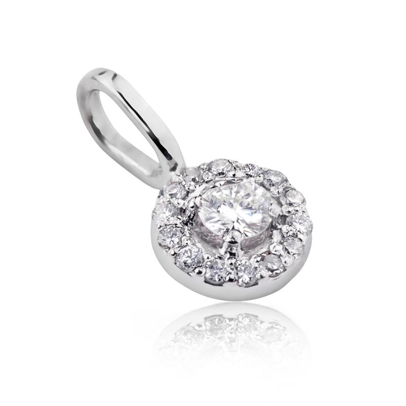Золота підвіска з діамантами «Арида»