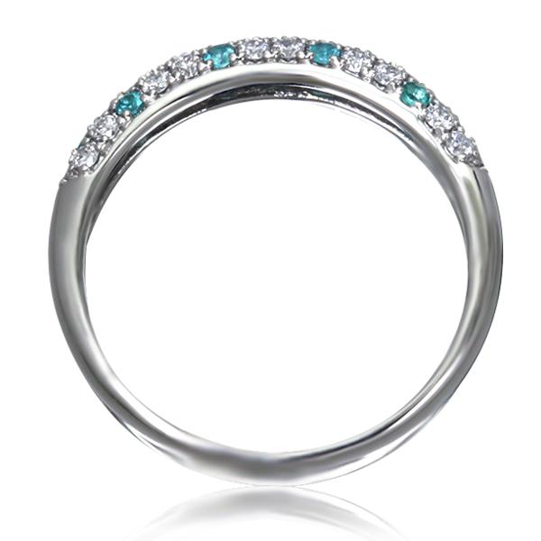 Золотое кольцо с топазами и цирконием «Monpasie»