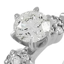 Золотое кольцо крупный бриллиант
