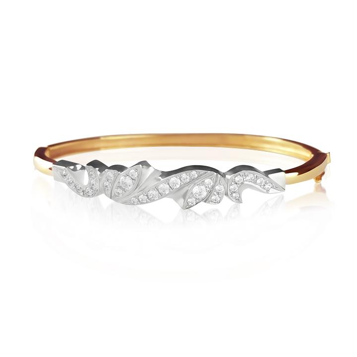 Золоті жіночі браслети