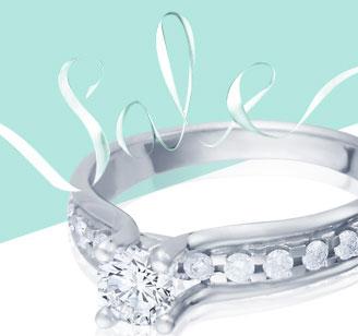 Помолвочные кольца со скидкой