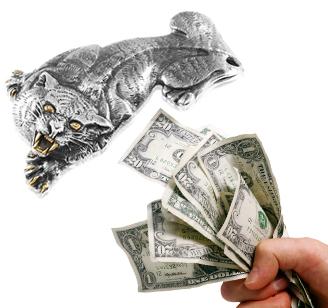 Затискачі для грошей