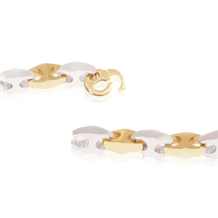 Золотий чоловічий браслет «Цицерон»
