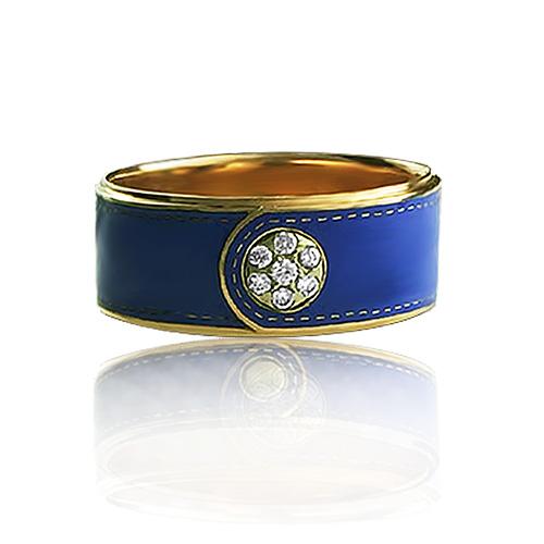 Обручальное кольцо «Tissage fleurs de bouton»