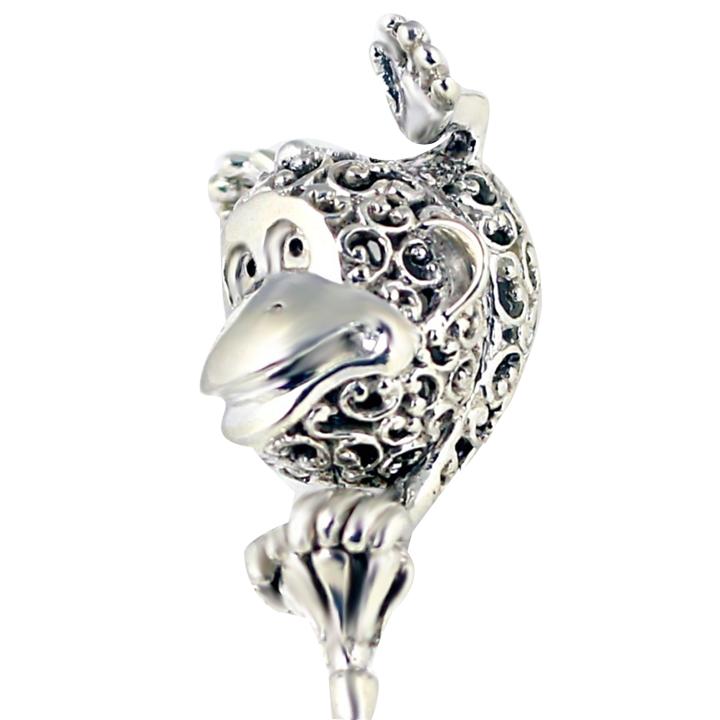 Серебряная погремушка «Обезьянка»