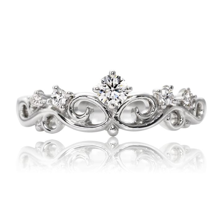Золотое кольцо с куб.цирконием «Корона»