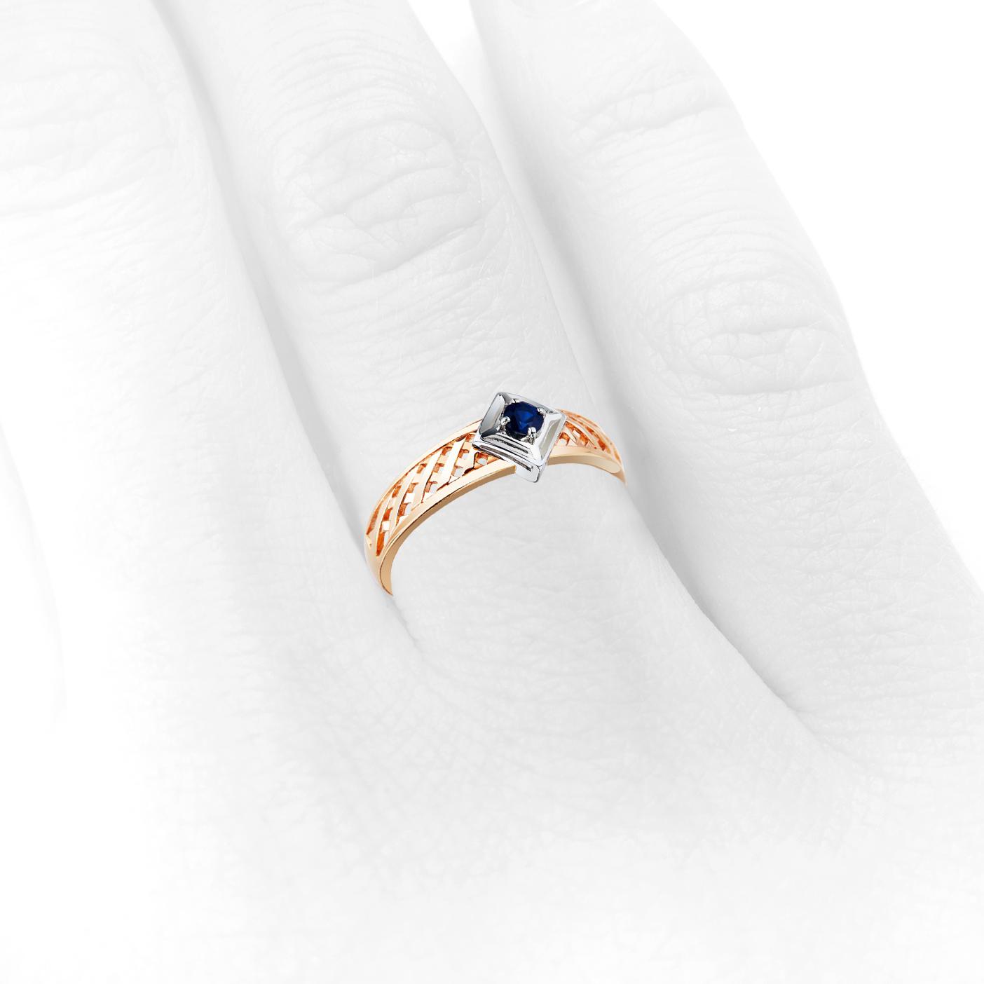 Купить кольцо с сапфиром