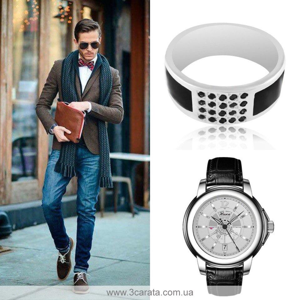 Мужские часы из белого золота «Престиж»