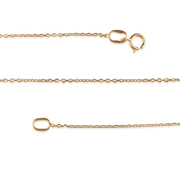Золотая якорная цепочка «Anchor»