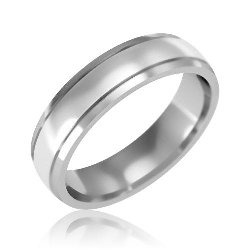 Золотое обручальное кольцо «Telma»