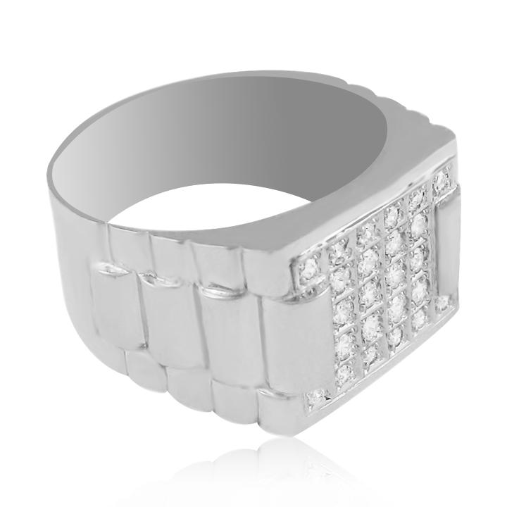 Золотий чоловічий перстень «Ланселот»