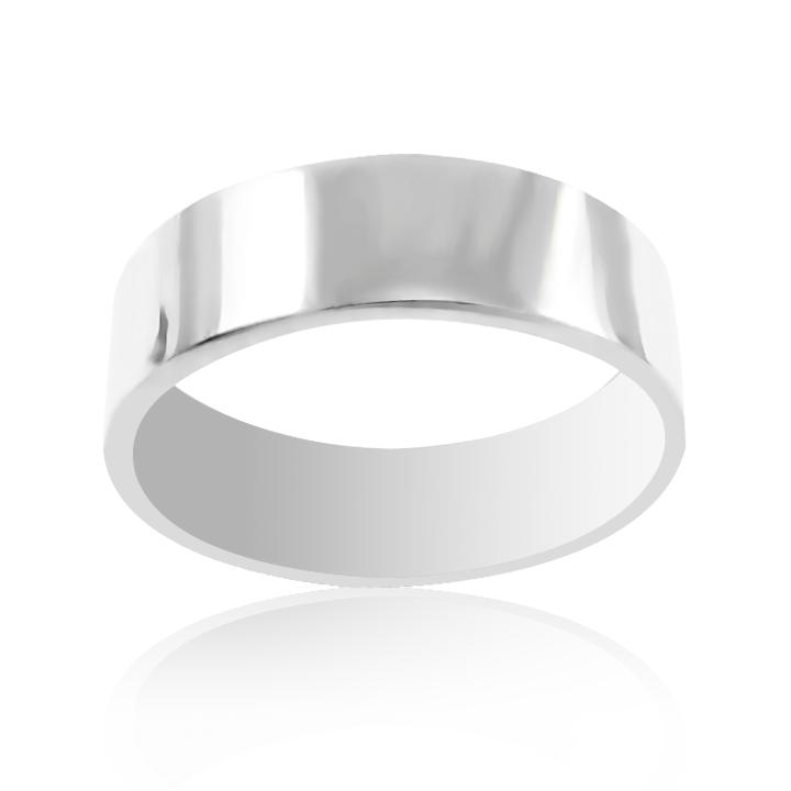 Золотое обручальное кольцо гладкое «Единство»