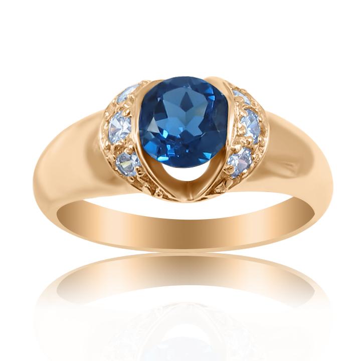 Оригинальные золотые кольца