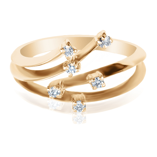 Кільце з діамантом ціна