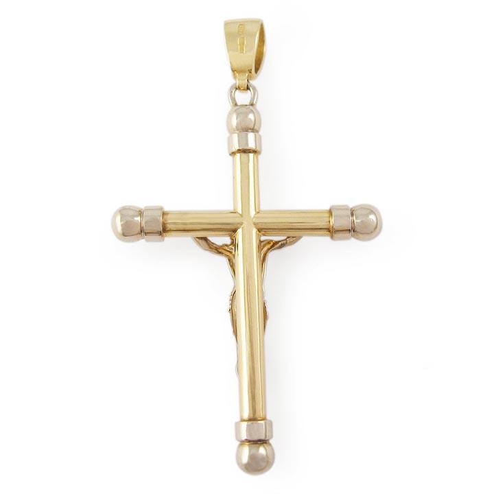 Золотий хрестик з розп'яттям «Особливий»