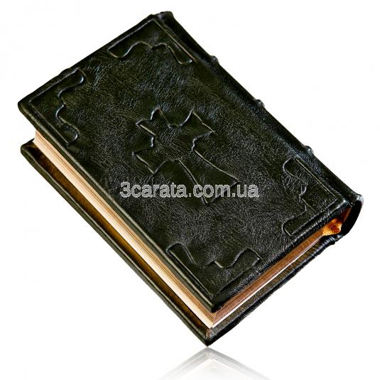 Інкрустована книга «Молитвослов» в шкіряній палітурці