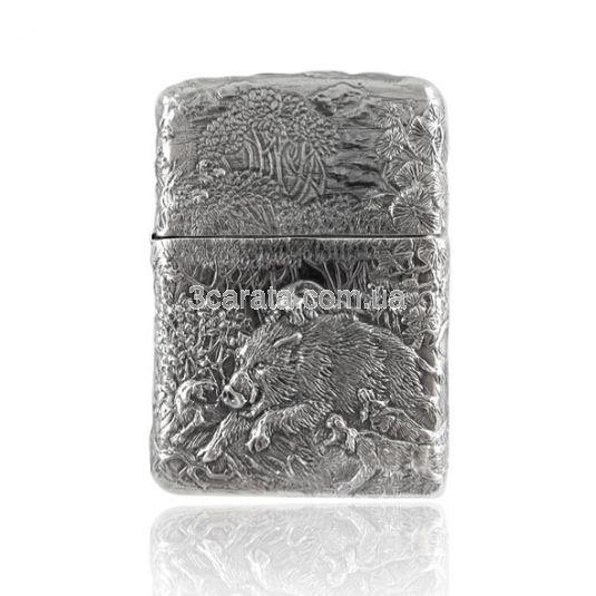 Срібна запальничка «Вепр»