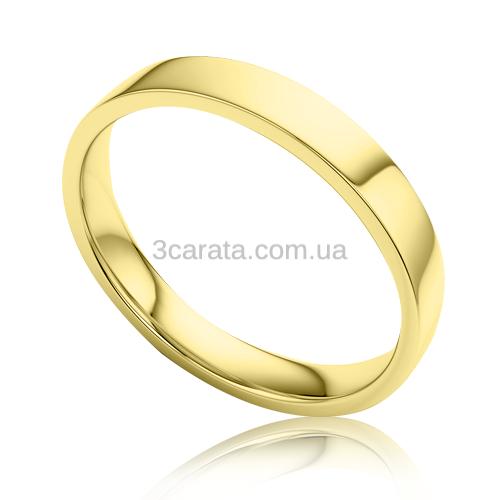 Золотое обручальное кольцо «Tradition»