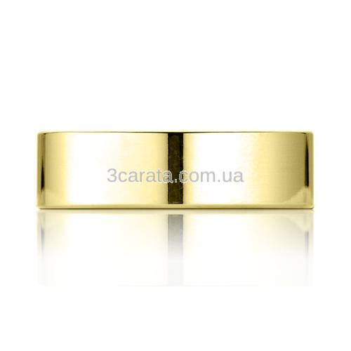 Золотое обручальное кольцо «Love to love you»