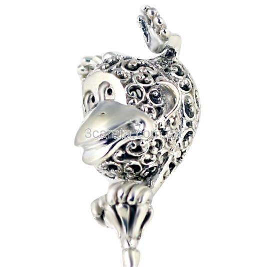 Срібне брязкальце «Мавпочка»