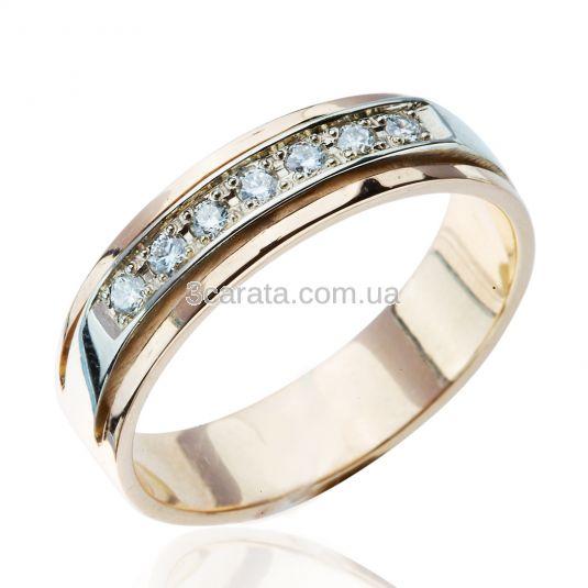Обручка з діамантом. Обручка біле золото діаманти 23a9135db3cef