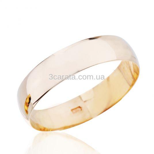 Класична обручка з червоного або білого золота 0a6226404184d