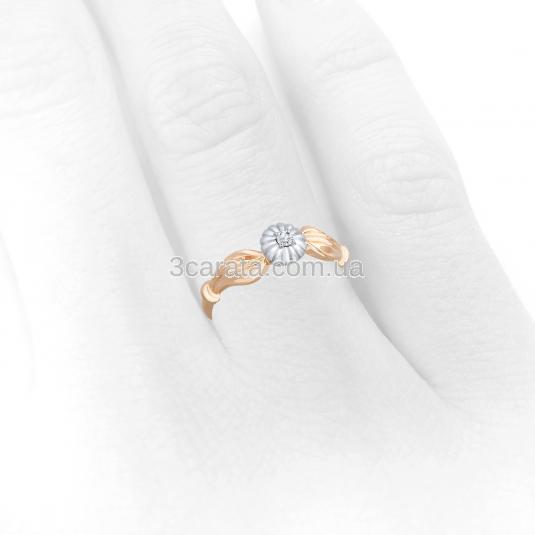 Золоті каблучкм з діамантами. Золота каблучка з діамантом b6b53022b191a