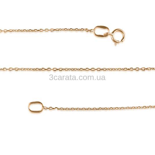 Золотий якірний ланцюжок «Anchor»