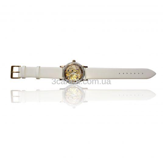 Золотий годинник жіночий «Lady Skeleton» b001b63d3e482