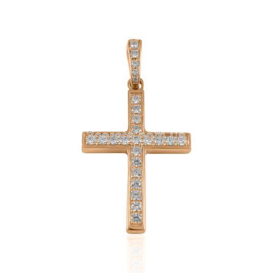 Золотий хрест з сапфірами «Esperanza»