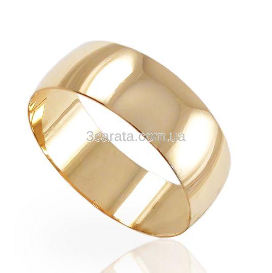 Золота широка обручка «Класична» fdb9980392903