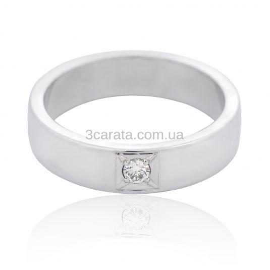 Золота обручка з діамантом «Одне ціле» 974a538110557