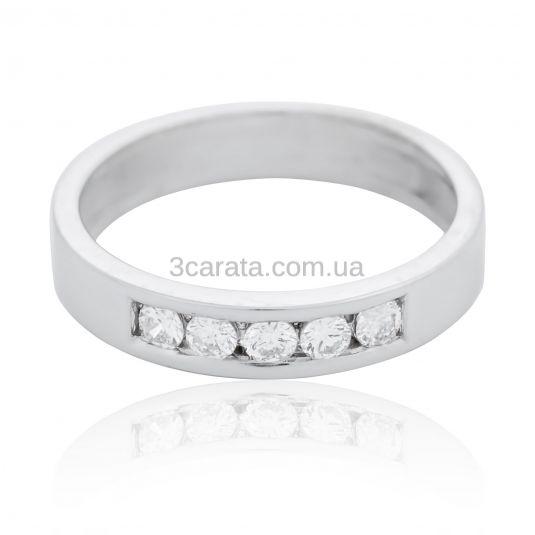 Золота обручка американка з діамантами «Sweetheart» 03752d143140e