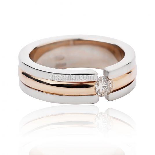 Золота обручка з діамантом «Визнання» 4ef96d6637c6d