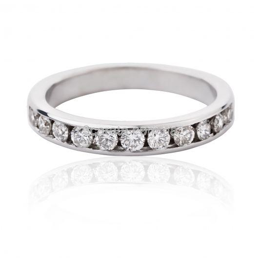 Золота обручка доріжка з діамантами «Love you» 33f0334ae29a1