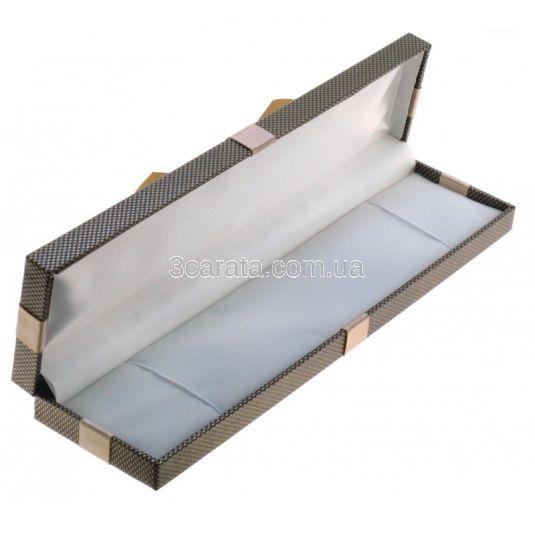 Подарункова коробочка з бантом для браслета або ланцюжка