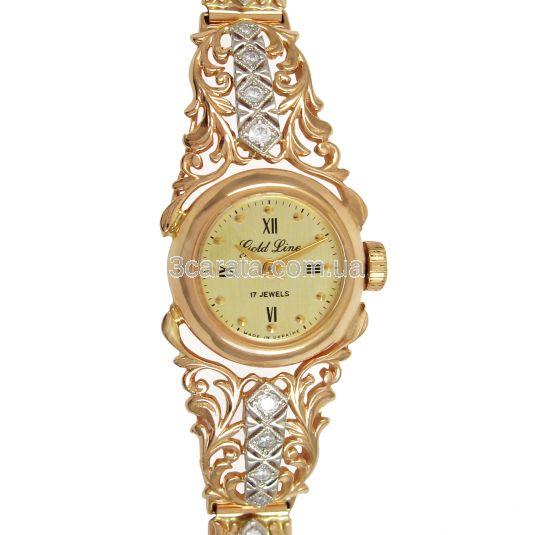 Золотий жіночий годинник «Вінтаж» a3ca1848e698c