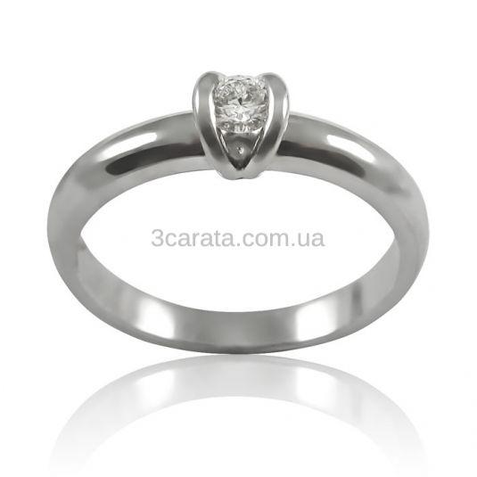 Золота заручальна каблучка з діамантом 0.15 ct «Сусанна» cb7b295a6096a
